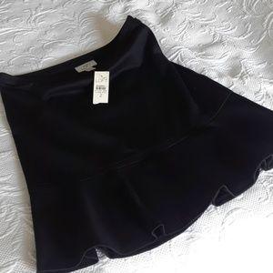 Black Loft Skirt Sz 2